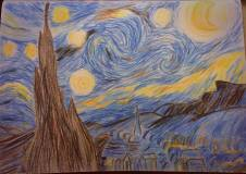 The Starry Night (After Van Gogh)