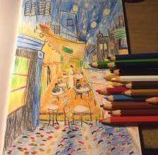 Cáfe de Nuit (After Van Gogh)
