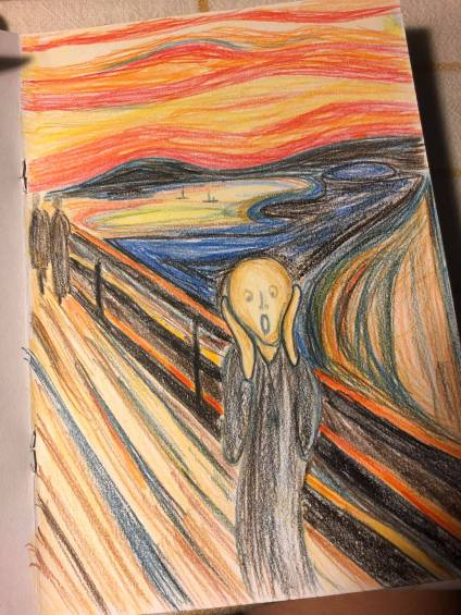 The Scream (After Edvard Munch)
