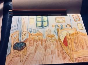 Bedroom in Arles (After Van Gogh)