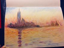 San Giorgio Maggiore at Dusk (After Monet)