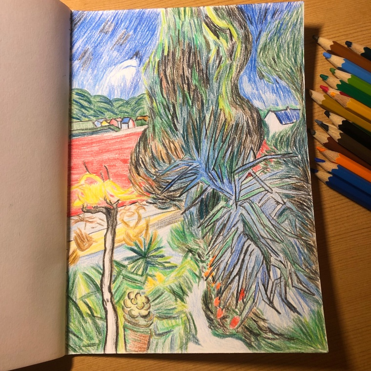 The Garden of Doctor Gachet at Auvers-sur-Oise (After Van Gogh)